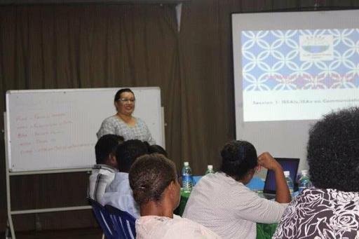 PASAI facilitator training OAG staff (Photo OAG)