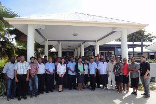 OAG Staff with ADB workshop facilitators (Photo OAG)